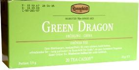 Чай ronnefeldt зеленый дракон green dragon