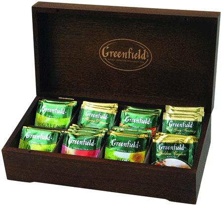 Набор Гринфилд в деревянной шкатулке