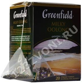 Чай в пирамидках Гринфилд