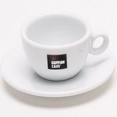 В подарок кофейная пара для капучино от кофейного бренда ГОППИОН