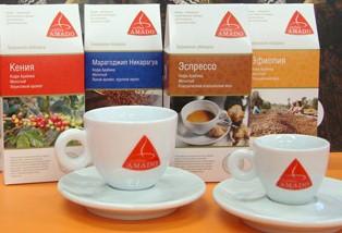 кофе АМАДО AMADO высокое качество с 1994 года