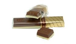 Конфеты Мерси двуслойный шоколад верхний тёмный кофейный и нижний слой белый с мягким вкусом сливок