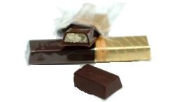 Конфеты Мерси темный шоколад с начинкой из марципана