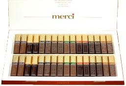 Конфеты Мерси 400 гр. коллекция из 8 видов очень вкусного шоколада