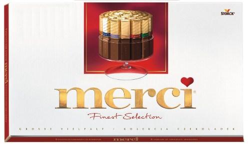Конфеты Мерси вес 400 гр. шоколадное ассорти