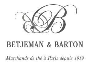 Чай Бенджамен Бартон из Франции
