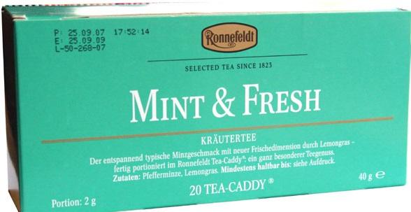 Чай Роннефельдт произведенный в 2007 году.