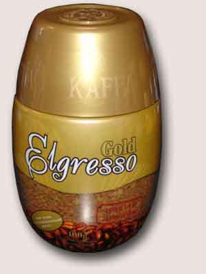 Kaffa Elgresso Gold 190 гр.