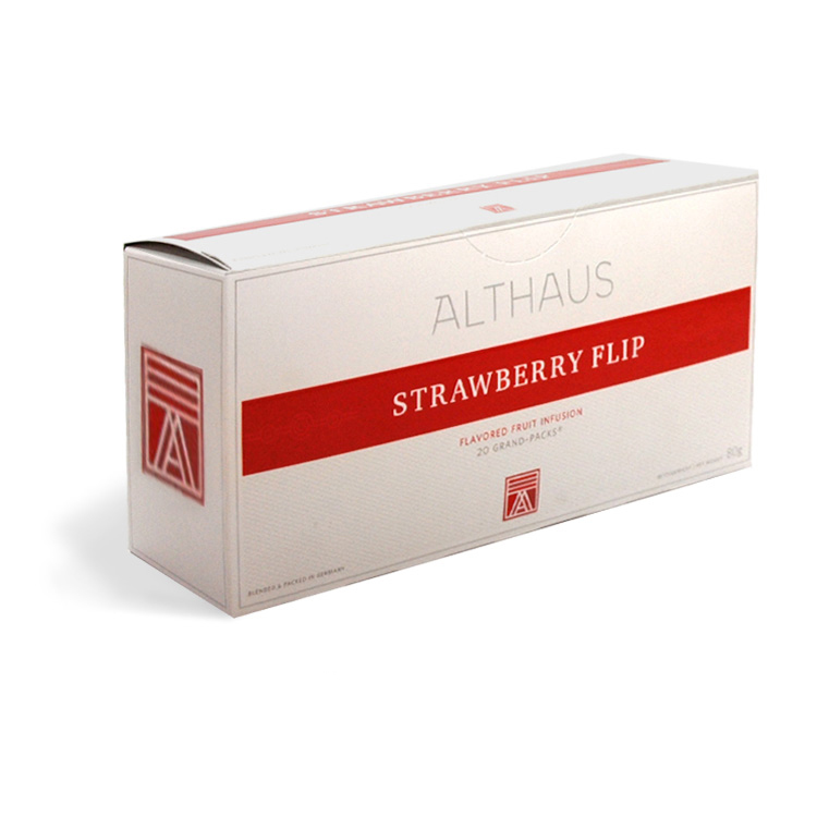 Чай Rooibush Strawberry Cream<br>Ройбуш Клубника со Сливками