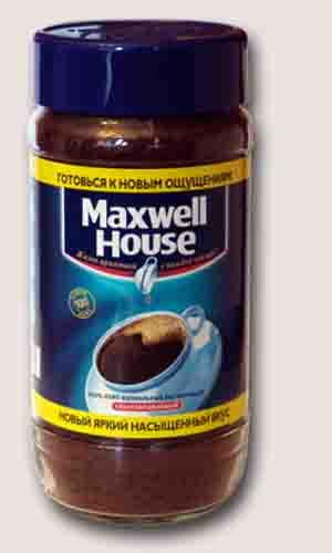 Maxwell House 190 гр.