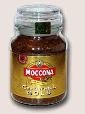 Moccona Continental Gold растворимый 100 гр.