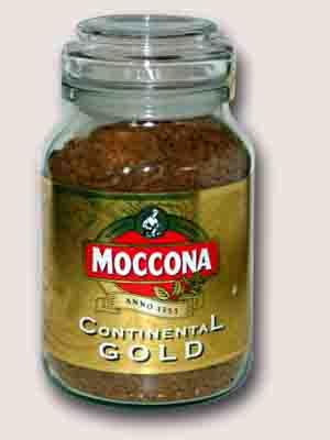 Moccona Continental Gold растворимый 200 гр.