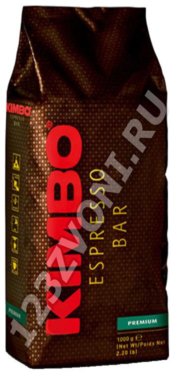 Kimbo Премиум (PREMIUM), 1000 г., зерно, пакет с клапаном.