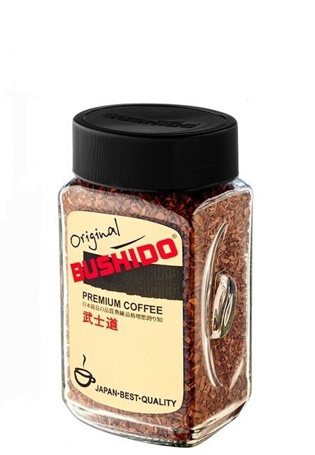 Кофе Bushido Ориджинал 100 гр.