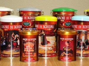 Золотые рыбки Подарочный набор 100 гр. листового / и 25 шт. пакетированного по 2 гр.