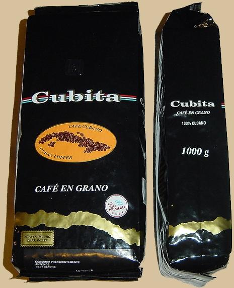 Кубинскй кофе Cubita зерно 1000 гр.