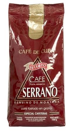 Кубинский кофе Serrano Selecto 1000 гр.