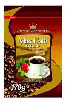 Max Cafe золотой м/у