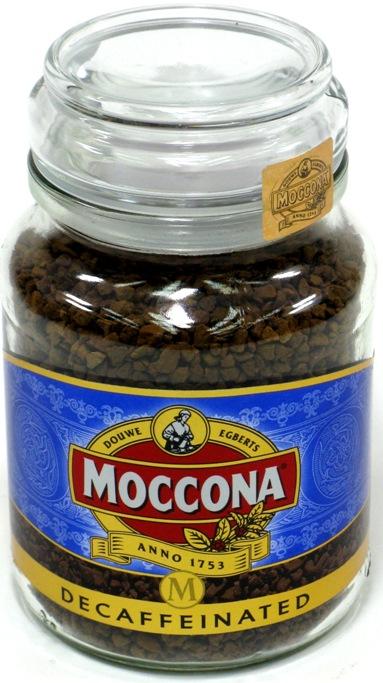Moccona Continental Gold без кофеина