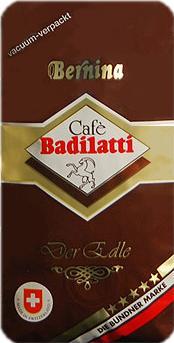 Badilatti Bernina, в зернах, 250 гр