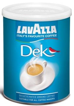 Кофе Lavazza Dek Decaffeinato молотый 0,250 кг. (железная банка)