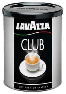 Кофе Lavazza Club молотый 0,250 кг. (железная банка)