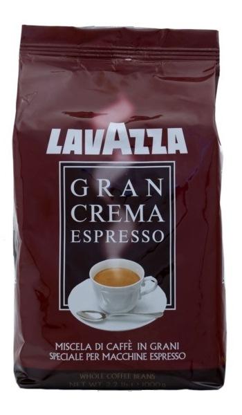 Кофе Lavazza Gran Crema Espresso зерно 1 кг. (в упаковке)