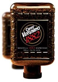 Кофе Vergnano Cristal 1882 Miscela Espresso зерно (пл. бан.) 3000гр.