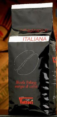 Кофе Vettori Italiana зерно 1000 гр.