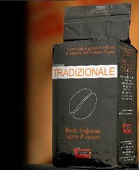 Кофе Vettori Tradizionale молотый (пакет) 250 гр.