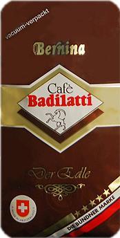 Badilatti Bernina, молотый, 250 гр
