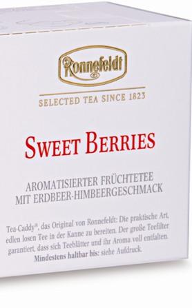 Sweet Berries Tea Caddy Садовые Ягоды