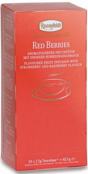 Чай Ronnefeldt  Red Berries Красные ягоды