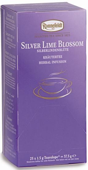 Чай Ronnefeldt Silver Lime Blossom цветок серебристой липы.