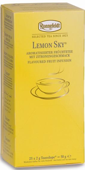 Чай Ronnefeldt Lemon Sky Лимонное небо