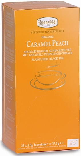 Чай Ronnefeldt Bio tee Caramel Peach Карамельный персик