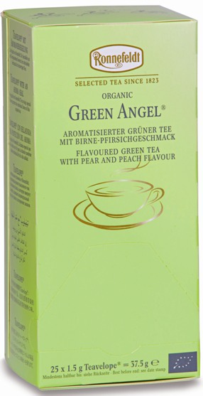 Биочай Ronnefeldt Biotee: Green Angel Organic Зеленый Ангел
