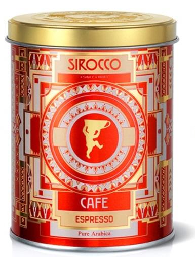 Sirocco Espresso pure Arabica en grains 250g
