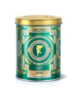Кофе Sirocco Crema pure Arabica en grains 250g
