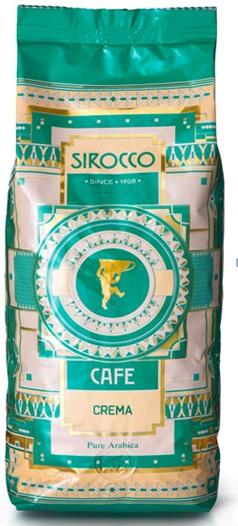 Кофе Sirocco CREMA 1кг.