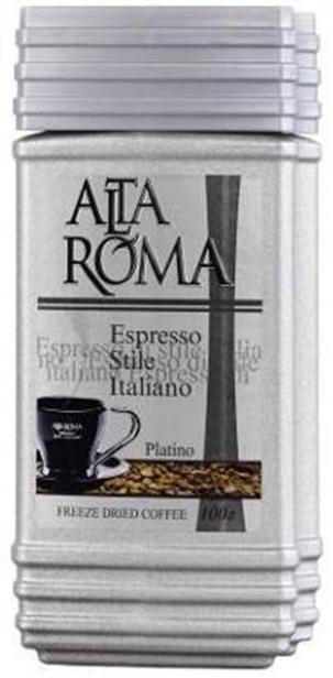 Кофе AltaRoma Platino, сублимированный, 100г
