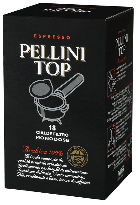 Кофе Pellini в чалдах