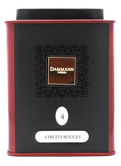 Чай Dammann Quatre Fruits Rouges / Чай Дамманн Четыре красных фрукта, 100 гр.