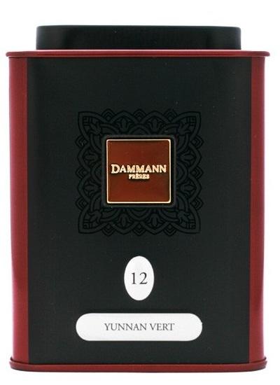 Чай Dammann Yunnan Vert / Чай Дамманн Зеленый Юннань, 100 гр.