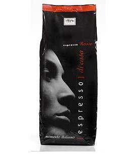 кофе Casa Rinaldi  Espresso Rosso кофе Каза Ринальди Эспрессо Красный 1 кг.