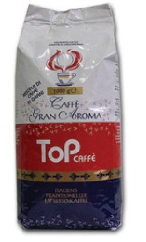 Ionia TOP Caffe , зерно 1000 г., смесь арабики и робусты.