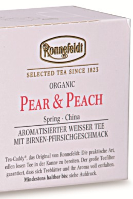 БИО чай Ronnefeldt Груша и Персик Pear & Peach