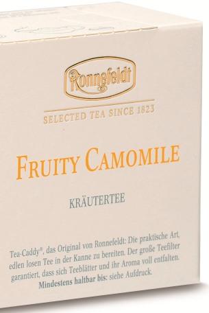 New травяной чай Ronnefeldt Fruity Camomile Фруктовая Ромашка