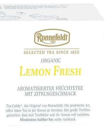 Биочай Ronnefeldt Лимонная Свежесть