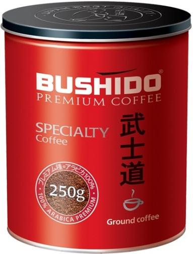 Bushido натуральный кофе Specialty молотый